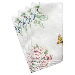 Lenox Butterfly Meadow Set of 4 Napkins