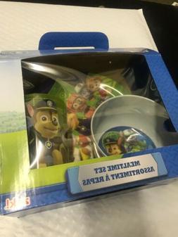 Nickelodeon PWPB-0392-B Paw Patrol Kids Dinnerware Sets 3 Pi