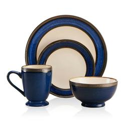 Pfaltzgraff Everyday Catalina Cobalt 16-Piece Dinnerware Set