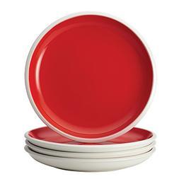 Rachael Ray Dinnerware Rise 4-Piece Stoneware Salad Plate Se