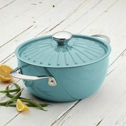 Rachael Ray Cucina Hard Porcelain Enamel Nonstick Covered Ro