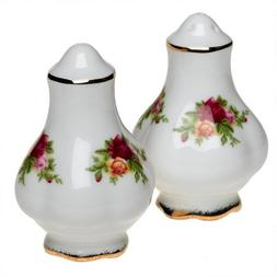 Royal Albert 27400520 Old Country Roses 3-Inch Salt and Pepp