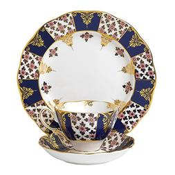 Royal Albert 3 Piece 100 Years 1900 Teacup, Saucer & Plate S