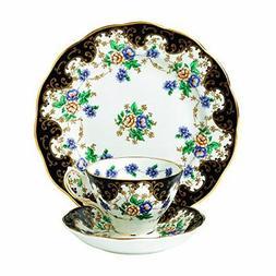 Royal Albert 40017587 100 Years 1910 Teacup, Saucer & Plate