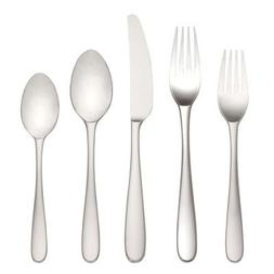 Stratton 65-piece Stainless Flatware Set by Lenox