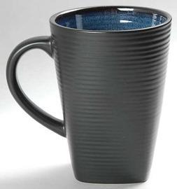 Oneida Adriatic-Blue Square Mug, Fine China Dinnerware