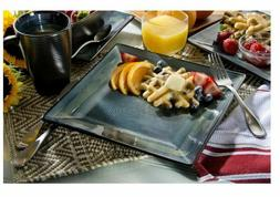 Oneida Adriatic Blue Stoneware 32-piece Dinnerware Set