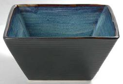 Oneida Adriatic-Blue Square Soup/Cereal Bowl, Fine China Din