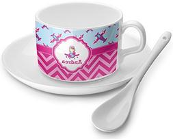 Airplane Theme - for Girls Tea Cup - Single