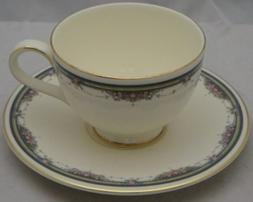 Royal Doulton Albany Footed Cup & Saucer Set
