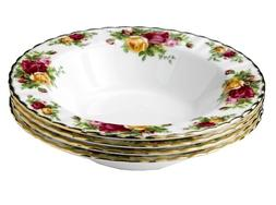 albert old country roses rim