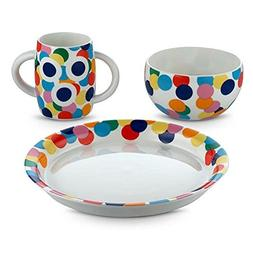 Alessi Alessini Proust 3 Piece Child's Dinnerware Set by Ale