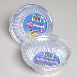 Aluminum Pot Pie Pan with Lid - 3 Pack Case Pack 12 Home Kit