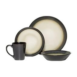 PFALTZGRAFF® Aria Gray 16 Piece Dinnerware Set, Service for