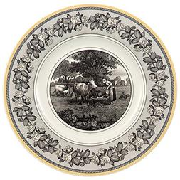 Audun Ferme Salad Plate Set of 6 by Villeroy & Boch - 8.5 In