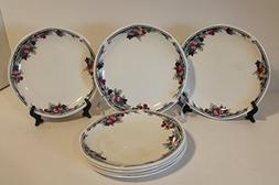 Autumn's Glory by ROYAL DOULTON SET of 7 Bread and Butter
