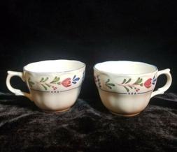 avondale dinnerware set of 2 coffee cups