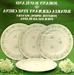 Johann Haviland Bavaria Germany Fine China Salad Plates: For