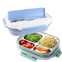 Bento Lunch Box Set, Mr.Dakai Stainless Steel Food Container