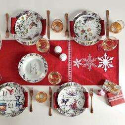 Better Homes & Gardens 12 Days of Christmas 12-Piece Dinnerw