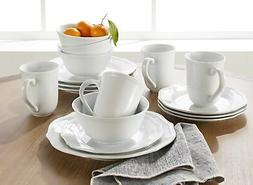 Better Homes Gardens 16-Piece Carnaby Scalloped Dinnerware S