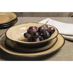 Better Homes  Gardens Bramley Crackle Glaze 12 Pcs Dinnerwar