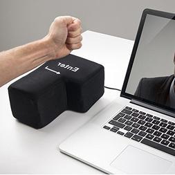 LtrottedJ Big Enter Key USB Pillow Anti-stress Relief Super