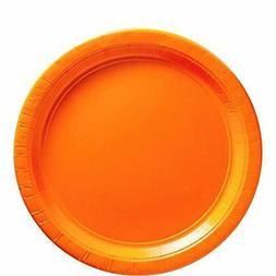 "Big Party Pack Orange Peel Paper Plates |  9"" | Pack of 50 |"