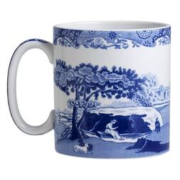 Spode - Blue Italian - Coffee Mug - 9 Oz Set Of 4