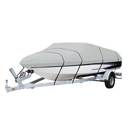AmazonBasics Boat Cover For V-Hull Runabouts, For 17' - 19'