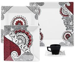 boho chic collection quartier dinnerware