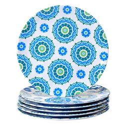 "Certified International Boho 11"" Dinner Plate , Multicolor"