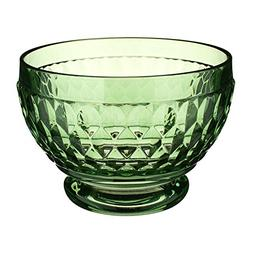 Villeroy & Boch Boston Glass Bowl Set of 4, Green