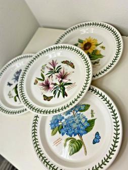 """Portmeirion Botanic 10.5"""" Dinner Plates NEW"""