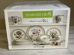 Portmeirion Botanic Garden 21 Piece Earthenware Dinnerware S