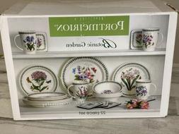 Portmeirion Botanic Garden 22 Piece Earthenware Dinnerware S