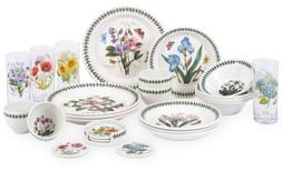 Portmeirion Botanic Garden 24 Piece Earthenware Dinnerware S
