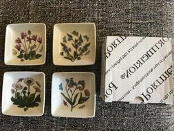Portmeirion Botanic Garden Mini Square Dipper Dish Set of 4,