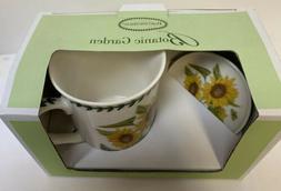 "Portmeirion Botanic Garden ""Sunflower"" Mug and Coaster S"