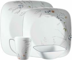 boutique adlyn 16 piece square dinnerware set