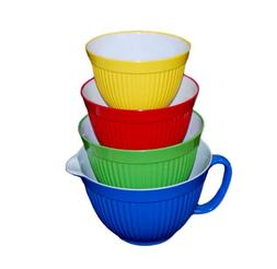 MELAMINE BOWLS - SET OF 4