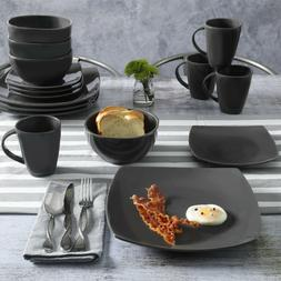 BRAND NEW Gibson Home Soho Lounge Dinnerware 16 Piece Set of