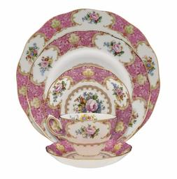 BRAND NEW Royal Albert Lady Carlyle 40 Piece China Set, Serv
