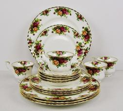 "Brand New - Royal Albert ""Old Country Roses"" 16 Piece Fine C"