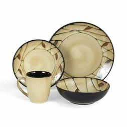 Pfaltzgraff Everyday Briar 32 Piece Dinnerware Set