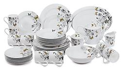 Success Butterfly Collection 40 Piece Dinnerware Set