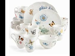 Lenox Butterfly Meadow Dinnerware 24 pc Set service for 6 NE