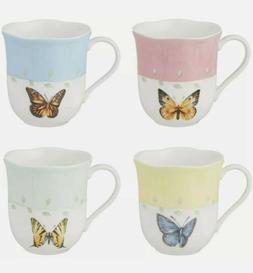 Butterfly Meadow Mugs, Set of 4