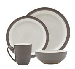 Denby Canvas Blends 16 piece Dinnerware Dish Set