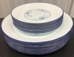 Corelle Celestial Blue 20pc HTF Dinnerware Set